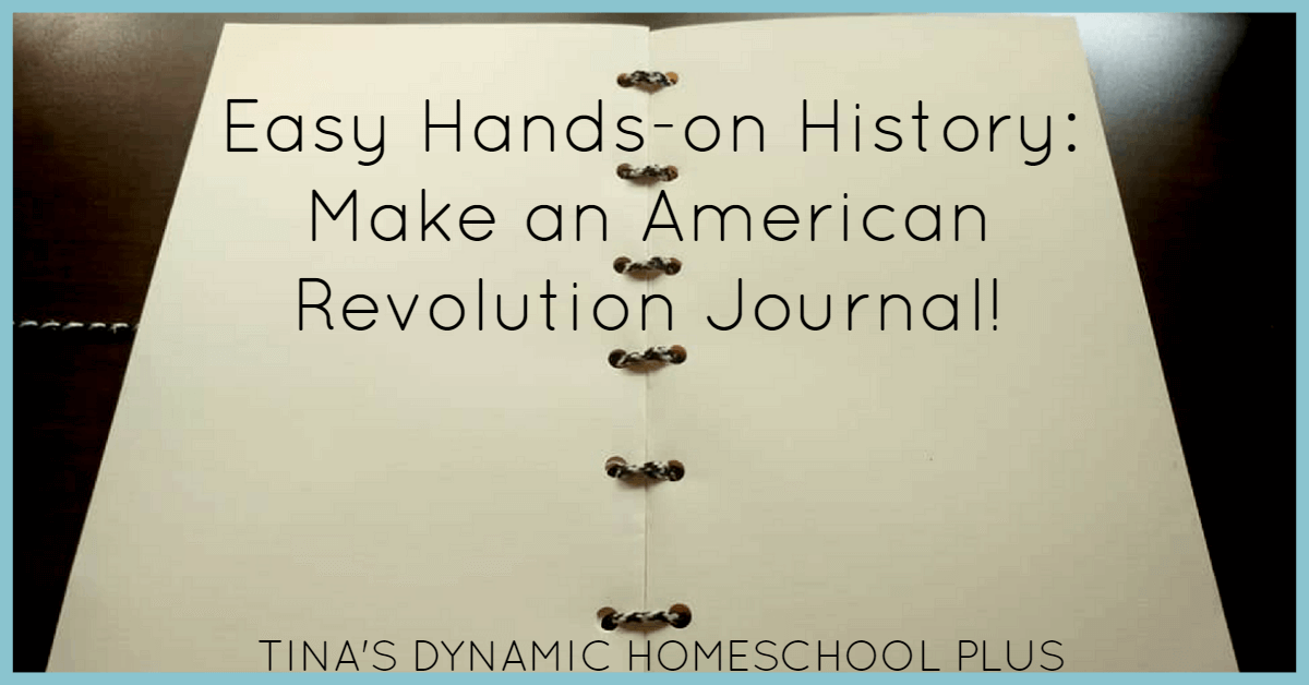 Hands-On History: Make a Revolutionary War Journal! Bring history to life with this easy hands-on history journal. Click here to see how to make it!