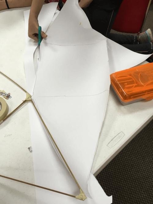 Making a Da Vinci Parachute