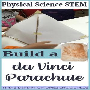 STEM: Build a Da Vinci Parachute Activity