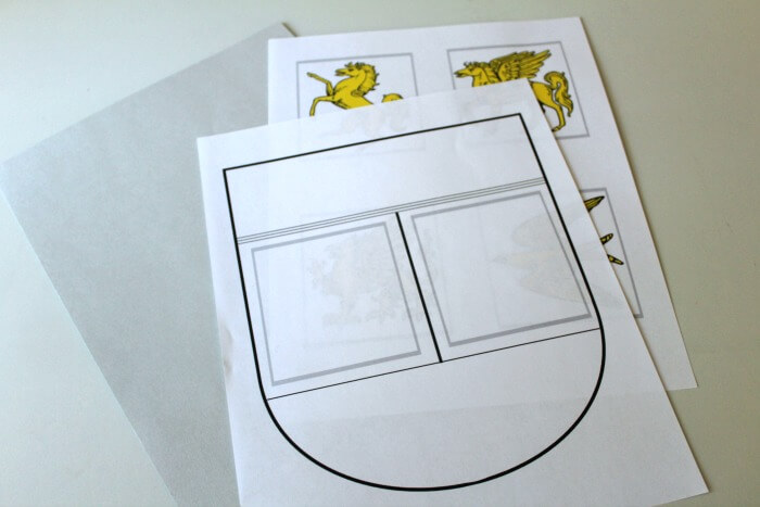 Simple Coat of Arms Activity