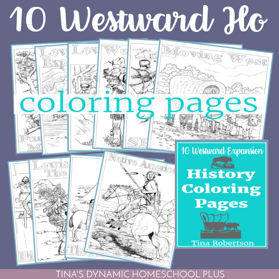 10 Westward Expansion History Fun Coloring Pages