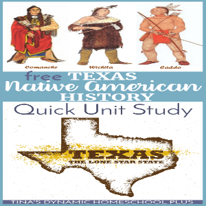 Texas Native American History Quick Unit Study (Middle School)