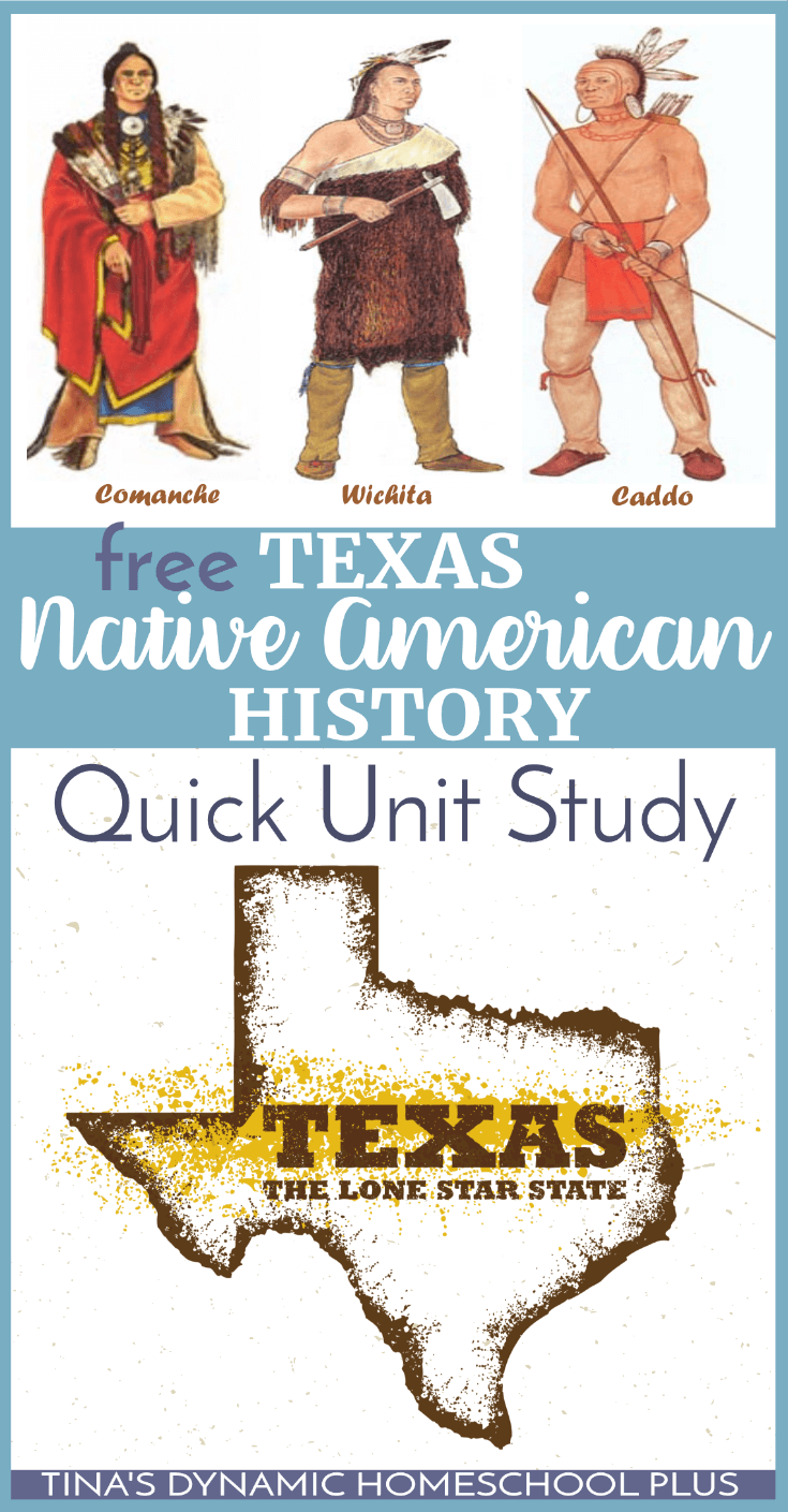 Texas Native American History Quick Unit Study (Middle School). Your middle school kids will love this free AWESOME unit study to learn about the first Native Americans of Texas. Click here to grab it!