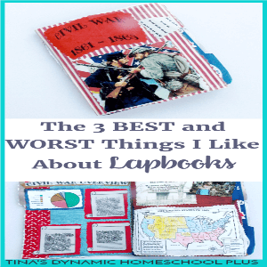 The 3 BEST and WORST Things I Like About Lapbooks