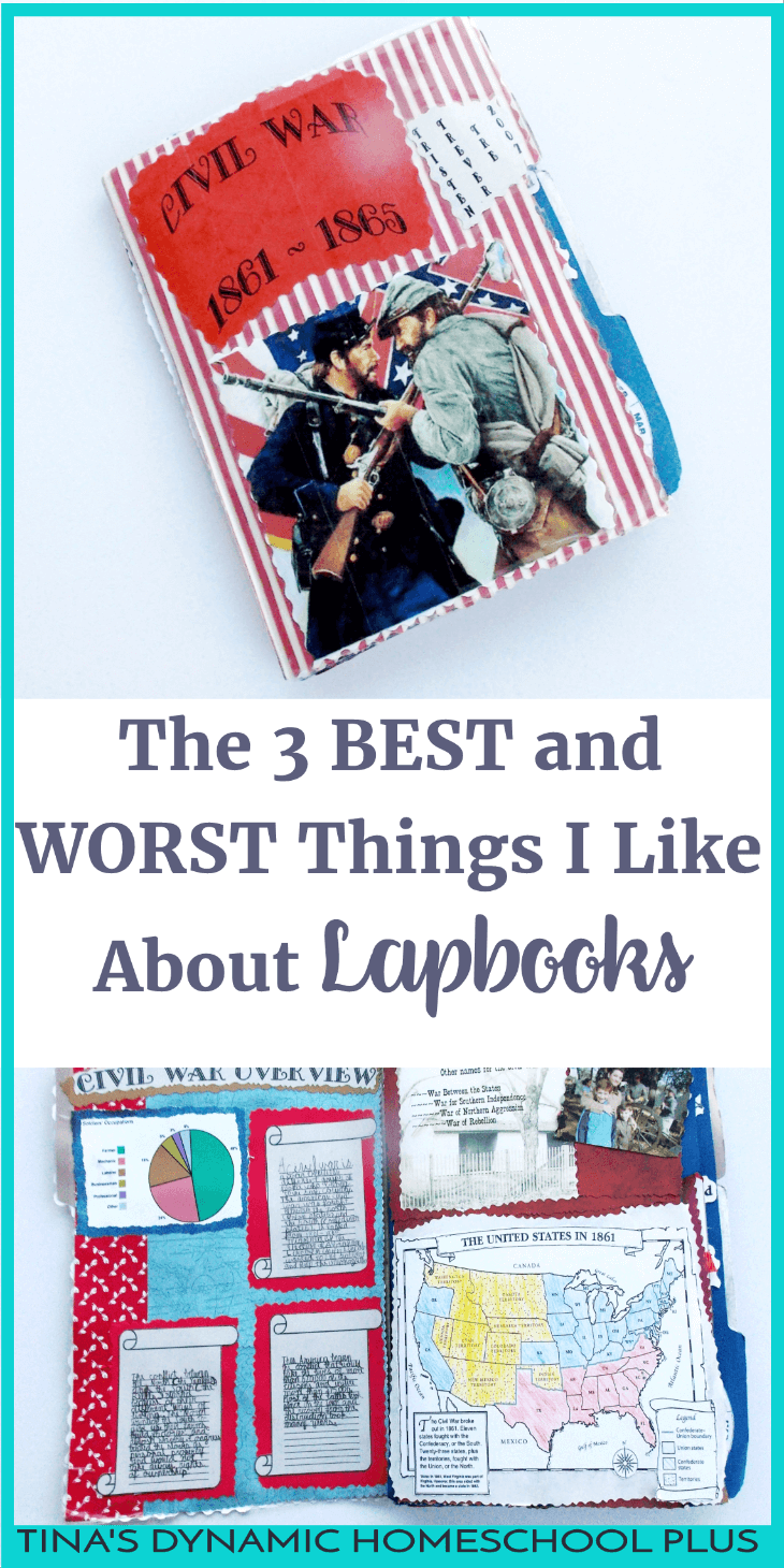 The 3 Best and Worst Things About Lapbooks. Lapbooks are not time wasters but worth your time. You'll love the over 30 FREE Lapbooks on this site. Come on over and try one or two.