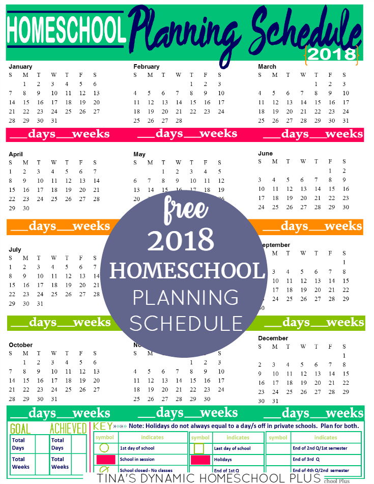 Free 2018 Homeschool Planning Form (Kelly Color). Begin building your free 7 Step Homeschool Planner with this BEAUTIFUL homeschool planner page. Step by step choose each form to fit your needs for homeschool planning. Click here to download it!