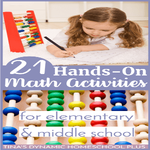 21 Hands-On Math Activities for Elementary and Middle School