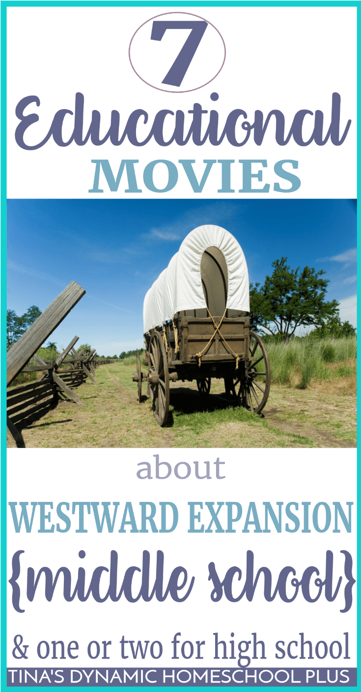 Whether you have visual learners like I do or just want to add a fun twist to your day while learning about westward expansion, your kids will love these 7 movies for kids about westward expansion. Click here to grab these fun movies and add to your study or unit study!