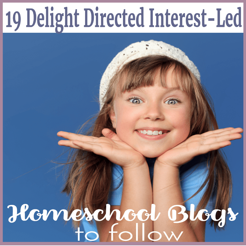 19 Delight Directed Interest-Led Homeschool Blogs To Follow. Interest-led learning is the fuel the sparks lifelong learning. Getting started can be intimidating.Understanding delight directed is imperative. Click here to follow these 19 delight directed interest-led homeschool blogs!