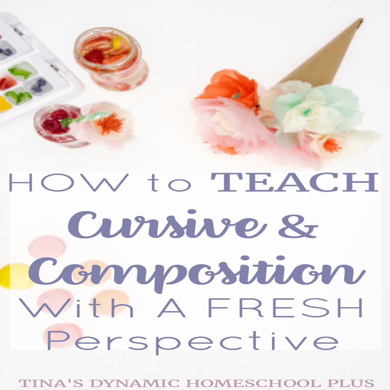 How to Teach Cursive and Composition With A Fresh Perspective. When you need to veer off the beaten path when teaching cursive and composition because your well-worn path is not working, then you need a fresh perspective. Click here to read these valuable tips!