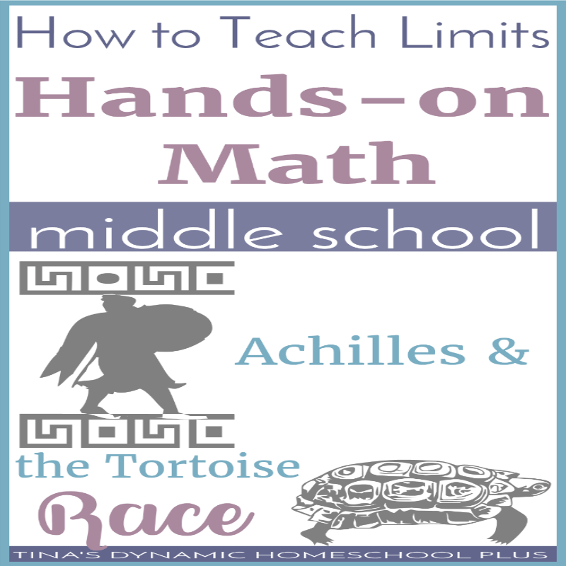 How to Teach Limits: Hands-on Middle School Math. It's common to use graphs to explain how to teach limits. But when you homeschool, you can make learning a bit more hands-on. Click here to see how to bring this math concept alive