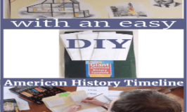 How to Teach With an Easy DIY American History Timeline (Pssst! Did you see the giveaway?)