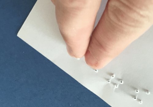 Reading Braille with Kids