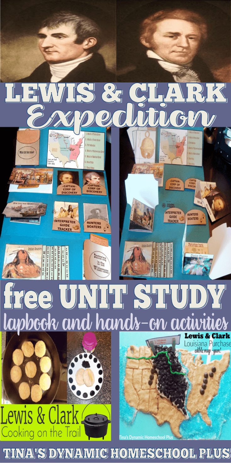 Lewis and Clark Expedition Fun Homeschool Unit Study and Lapbook! CLICK HERE here to grab it!