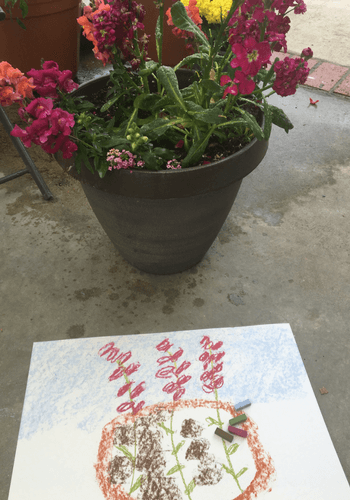 Making a Spring Mixed Media Project