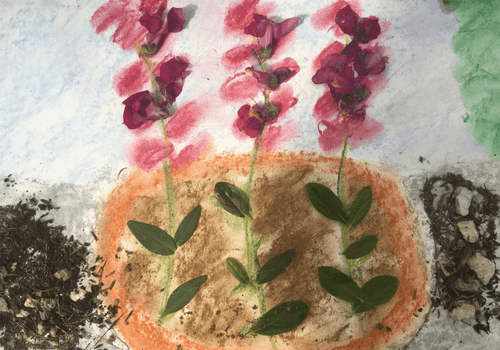 Mixed Media Spring Nature Study