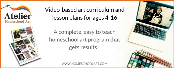 AWESOME Homeschool Art Video-Based Program