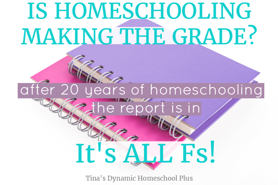 Successfully homeschooling is not easy. Ask a homeschool mom and she'll admit many days are tougher than she thought in the beginning. Is homeschool worth it? Is homeschooling making the grade? After 20+ years of homeschooling and having my third homeschool high school graduate this year, I'm here to tell you the grade is in and it's all Fs.