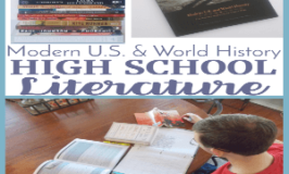 Modern U.S. and World History High School Literature (Oh, You're Going to Want This!)