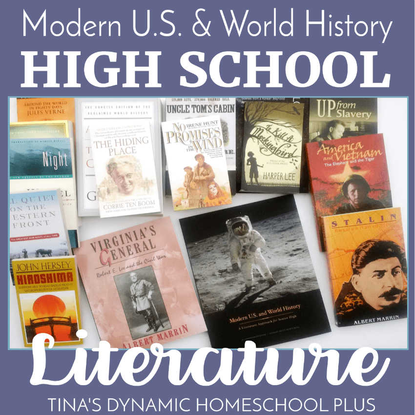 Let's face it! Whether you've homeschooled your kids from the beginning or started part way through, choosing high school literature can be intimidating. You want the peace of mind knowing you prepared your teen well by using great books whether he chooses a career or college track. You'll love these high school literature books along with the literary analysis. CLICK HERE to read about this curriculum!