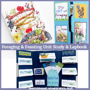 Foraging and Feasting Nature Unit Study and Lapbook (Nature Book Club Link Up 6)