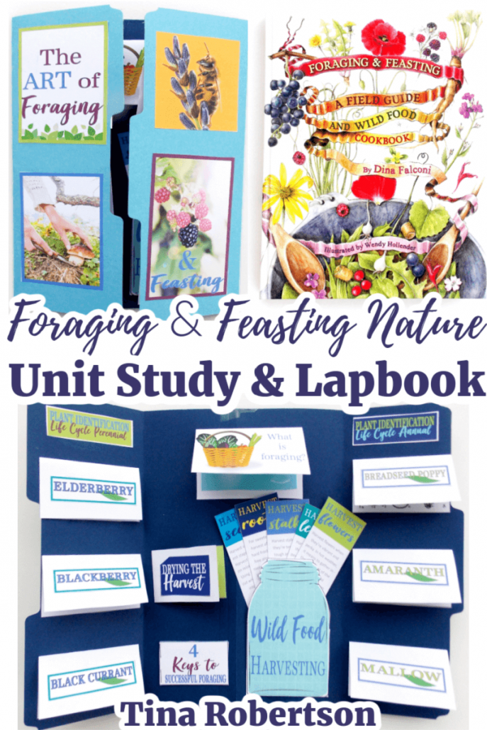 Foraging and Feasting Nature Unit Study and Lapbook