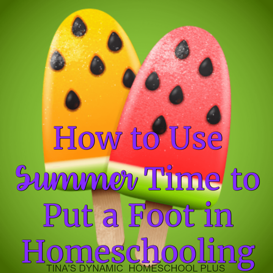 Summer time conjures up lazy days at the pool, a trip to the beach, and more relaxed schedules along with a family vacation or two. Summer time homeschooling is not only a great time to begin, but a way to have a relaxed start to the new year.