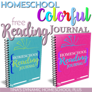 Homeschool Colorful Reading Journal to Motivate Kids