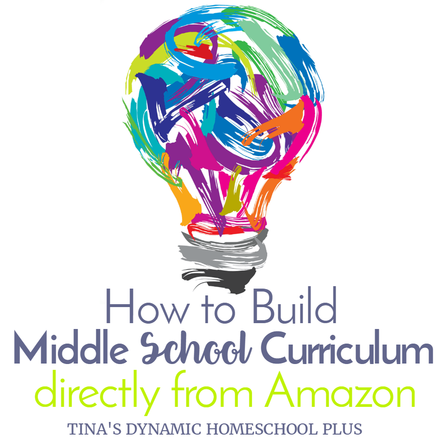 We have homeschooled kids with unique needs and being able to to build creative homeschool curriculum directly from Amazon is a huge benefit. Click here to see how to build unique curriculum for your middleschooler!