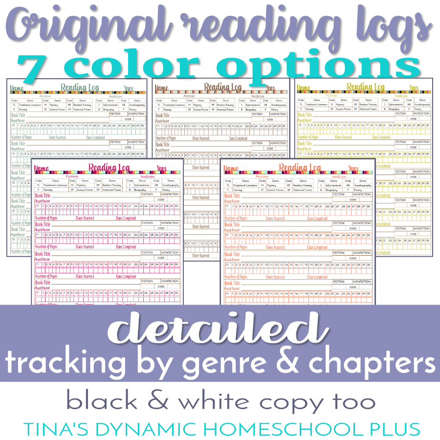 Here is what I have on STEP 5A Choose Unique Forms Just for YOU – 7 Step  Homeschool Planner which explains my process in how I created them.