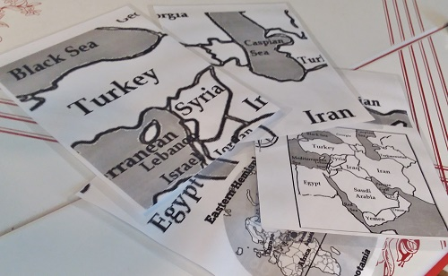 Hands-on Geography Mesopotamia: Fun Salt Dough Map