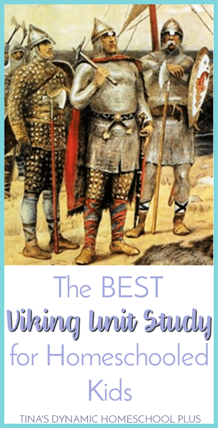 The BEST Viking Unit Study for Homeschooled Kids. Your kids will love this mini unit study about Ancient Vikings. They are truly fierce people of the sea. Click here to grab this AWESOME Vikings Unit Study @ Tina's Dynamic Homeschool Plus