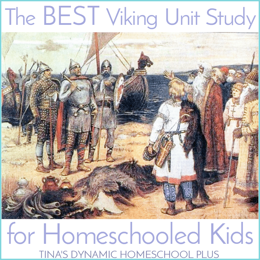 The BEST Viking Unit Study for Homeschooled Kids. Your kids will love this. Check it out @ Tina's Dynamic Homeschool Plus
