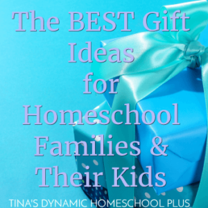 The BEST Gift Ideas for Homeschool Families & Their Kids!