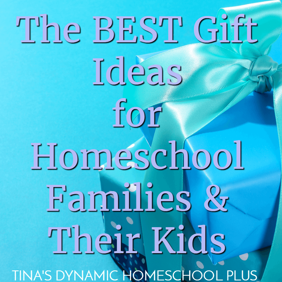 What's the best gift ideas for homeschool families and their kids? You'll love this list! CLICK HERE!