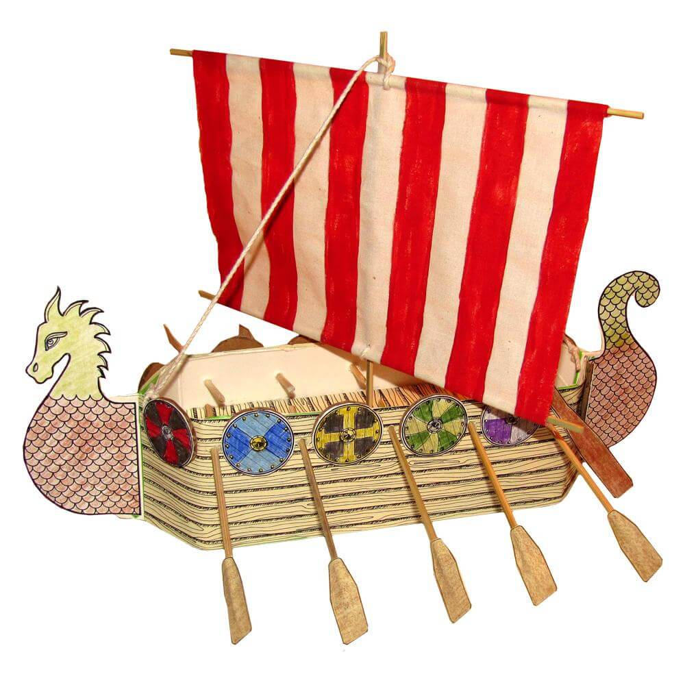 Hands on Ancient Viking Ship | Tina's Dynamic Homeschool Plus