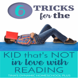 6 Tricks for the Kid That's NOT in Love with Reading!