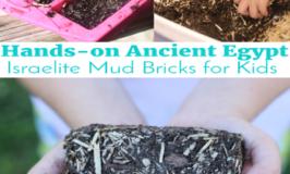 Hands-on Ancient Egypt: Israelite Mud Bricks for Kids