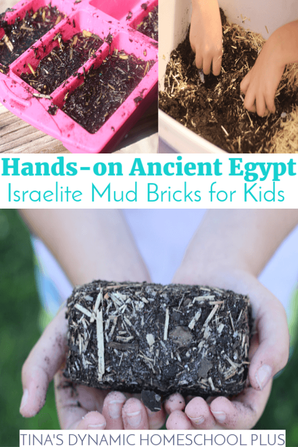 Hands-on Ancient Egypt: Israelite Mud Bricks for Kids. Back in Ancient Egypt they couldn't just make a run to the brickyard to pick up a pallet or ten in their trucks. Brick making was very hard, labor intensive work. So they used Israelite slaves to first gather the materials, make the bricks, and then use them to build with. They needed to use resources they had on hand to create sturdy bricks for building walls. CLICK here to make this fun diy mud bricks!