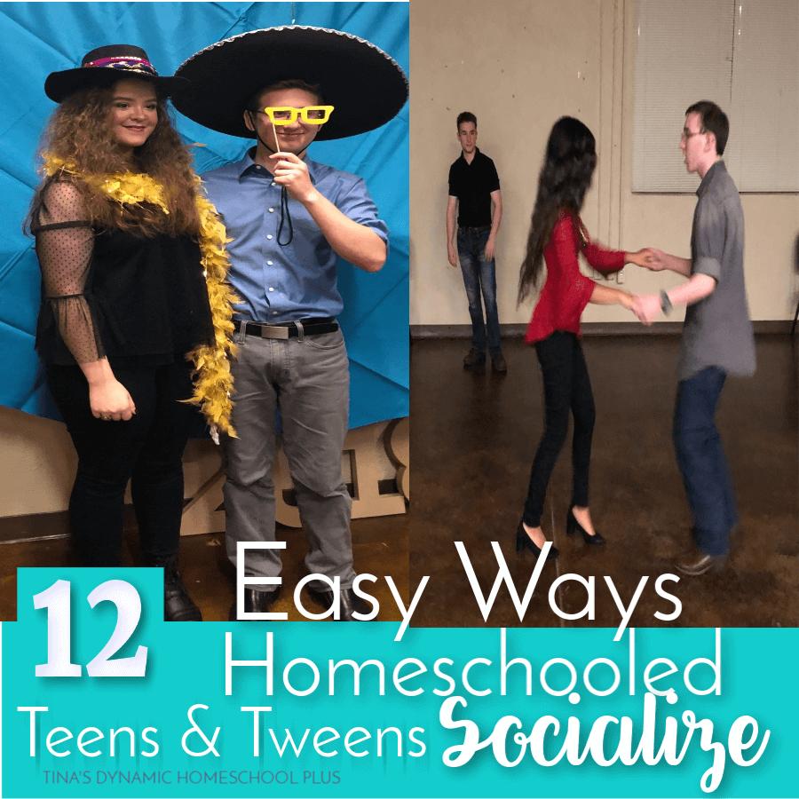 12 Easy Ways Homeschooled Teens and Tween Socialize