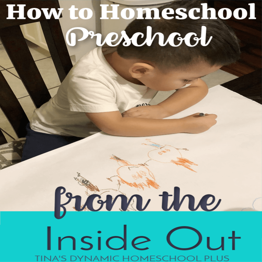 What does it mean to teach homeschool preschool from the inside out? Any change or growth whether it's physical or mental starts from the root or inside and comes to the surface.  After 20+ years of homeschooling, I've come to appreciate deeply that teaching preschool is a similar approach.