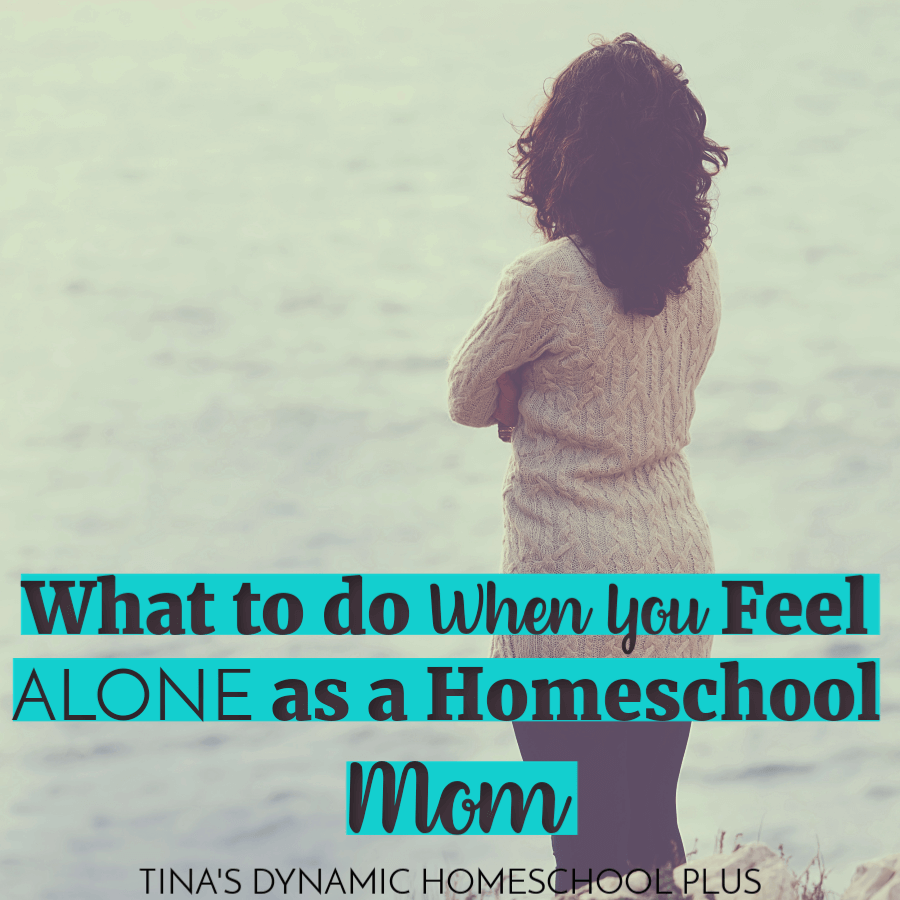 "It's ironic that we seek out opportunities for our kids to ""socialize"" yet as homeschool moms we can get isolated unless we make an effort to reach out. You'll love these tips on What to Do When You Feel Alone as a Homeschool Mom! CLICK HERE!"