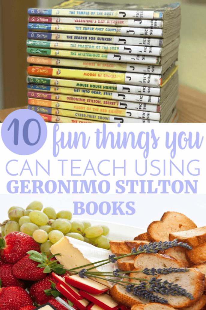Are you looking for engaging readers for your middle to upper elementary kids? It's hard to find books that get reluctant readers interested, but these books will do it.  CLICK here for 10 Fun Things You Can Teach Using Geronimo Stilton Books!