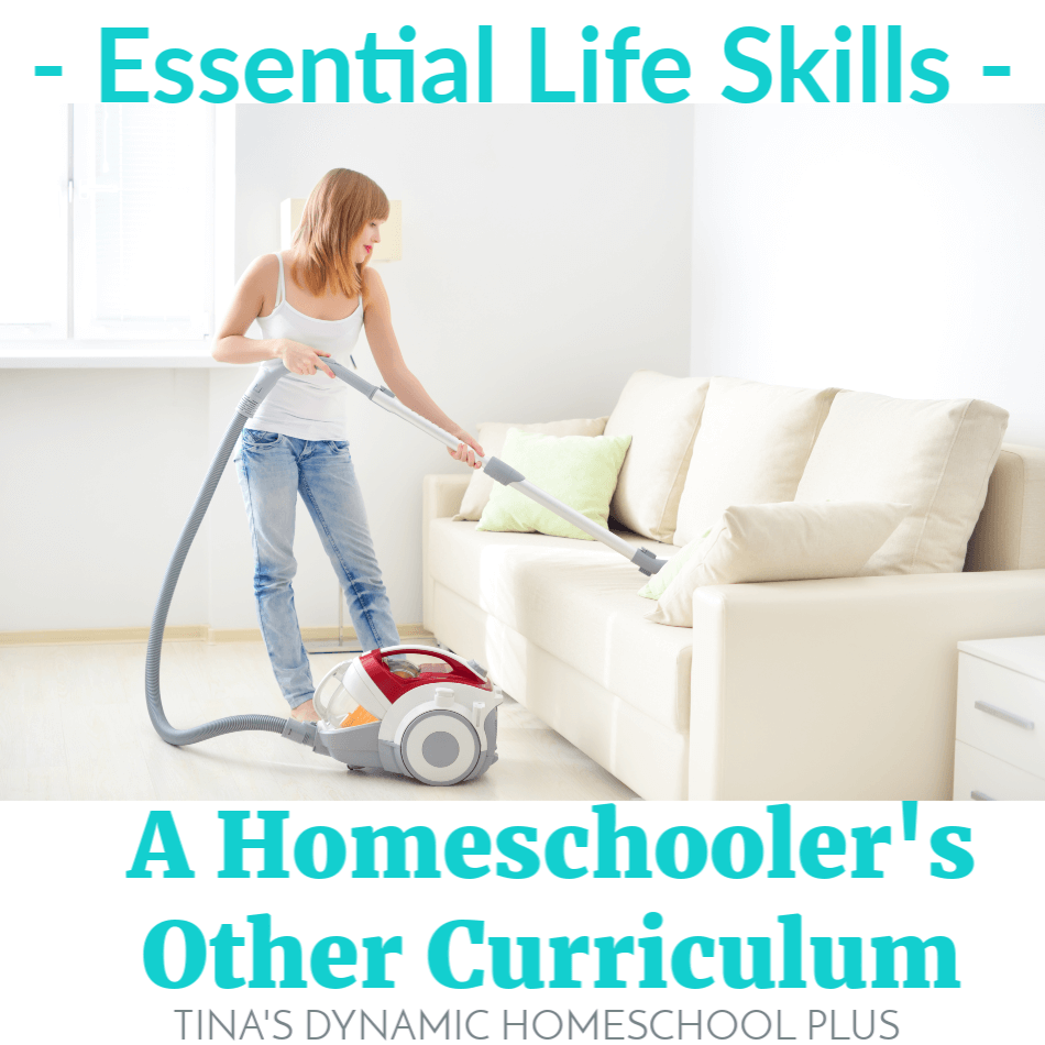 Essential Life Skills a Homeschoolers Other Curriculum @ Tina's Dynamic Homeschool Plus