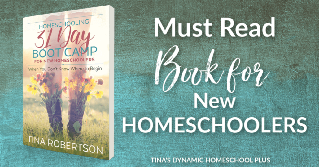 Must Read Book for New Homeschoolers Homeschooling 31 Day Boot Camp for New Homeschoolers @ Tina's Dynamic