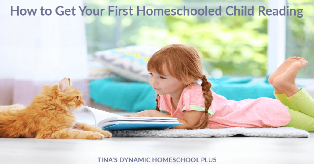 How to Get Your First Homeschooled Child Reading. CLICK here to grab these AWESOME tips from a seasoned veteran and grab free phonics readers too.