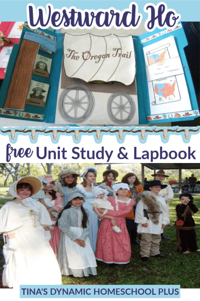 BEST Westward Ho Unit Study and Lapbook!