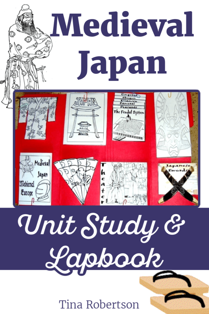 Medieval Japan Unit Study and Lapbook