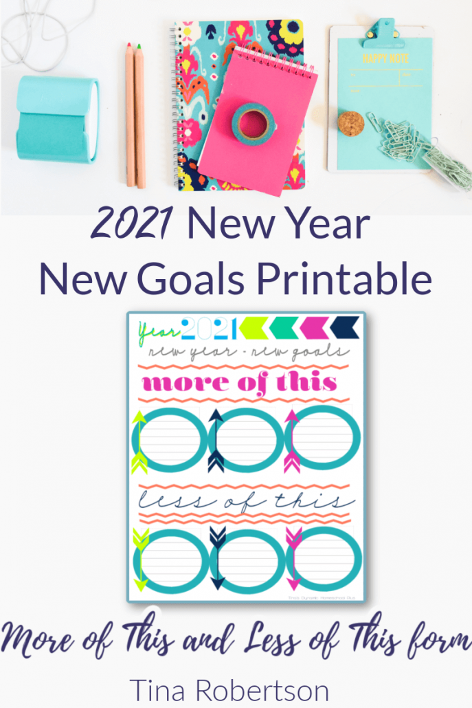 2021 New Year New Goals Setting Beautiful and Practical Form