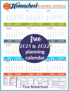 2021-2022 Beautiful Homeschool Planning Forms